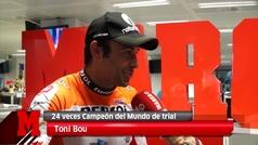 Toni Bou visita MARCA después de ganar su 24º Mundial