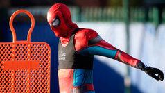 ¿Qué jugador del Leicester entrena vestido como el Hombre Araña?