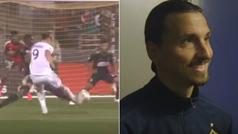 """Ibra se viene arriba tras marcar un gol: """"si hubiera venido hace 10 años, ahora sería el presidente"""""""