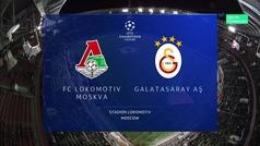 Champions League (J5): Resumen y goles del Lokomotiv 2-0 Galatasaray