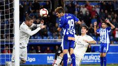 LaLiga (J8): Resumen y gol del Alavés 1-0 Real Madrid