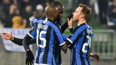 Europa League (1/16, ida): Resumen y goles del Ludogorets 0-2 Inter