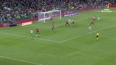 Gol de Canales  (2-2) en el Betis 2-2 Athletic