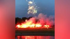 """Fuegos artificiales para el Dynamo Dresden tras su cuarentena: """"Juntos contra el resto del mundo"""""""