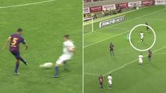 El fatal error de Busquets en la salida de balón... para regalar el gol al Chelsea