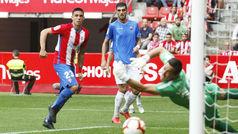 LaLiga 123 (J9): Resumen y goles del Sporting 1-1 Reus