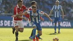 LaLiga 123 (J26): Resumen y goles del Deportivo 1-1 Nàstic