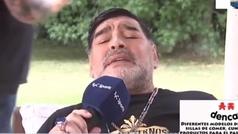 Maradona cantando...¡en italiano!