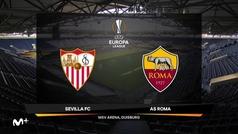 Europa League (octavos): Resumen y goles del Sevilla 2-0 Roma