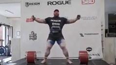 The Mountain de Game of Thrones rompe récord mundial de peso muerto; ¡levantó 501 kg!
