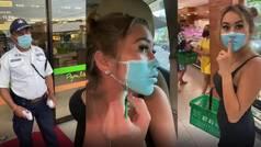 Dos influencers podrían ser deportados de Bali por una broma viral con una mascarilla falsa