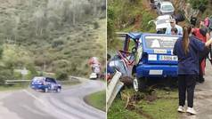 Asi fue el trágico accidente en el Rally de Llanes