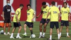 Setién no recupera a ningún lesionado para el derbi contra el Espanyol