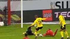 Kimmich da la Supercopa alemana al Bayern... ¡con un gol cayéndose!