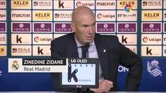 """Zidane: """"No tengo nada contra Jovic"""""""
