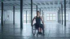 Eva Moral: Es imposible que yo camine, pero no que yo llegue a donde quiera