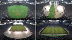 Así convierten en Japón un estadio de béisbol en uno de rugby: ¡el 'time-lapse' es alucinante!