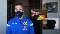 Las intimidades del árbitro de la final de la Supercopa: Gil Manzano nos enseña su maleta