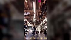 El 'video bomb' de Ricky Rubio a su compañero con pasado azulgrana