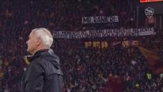 Las emotivas lágrimas de Ranieri tras leer el mensaje del Olímpico de Roma