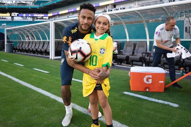 El 'que no caiga' con el que Neymar cumplió el sueño de la 'princesa' Ariana