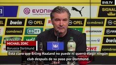"""Zorc: """"Haaland no quiere ni puede cambiar de club"""""""