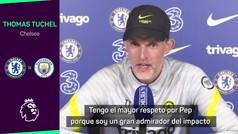 TUCHEL: Guardiola tiene mis respetos por todo lo que ha hecho