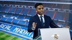 "Rodrygo: ""Espero dar muchas alegrías al Madrid"""