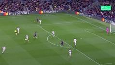 Gol de Luis Suárez (1-0) en el Barcelona 3-0 Liverpool