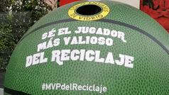 El Ayuntamiento de Madrid y la NBA meten el triple más ecológico