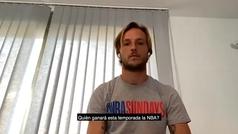 Rakitic elige a Doncic y a... Iniesta para jugar en la NBA