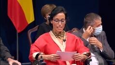 Emotivo discurso de Teresa Perales, Premio Princesa de Asturias de los Deportes 2021