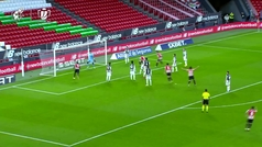 Gol de Iñigo Martínez (1-1) en el Athletic 1-1 Levante