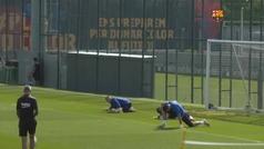El Barça regresa a los entrenamientos a dos jornadas para que finalice LaLiga