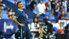 """Mendilibar: """"La culpa es mía y no de los jugadores"""""""