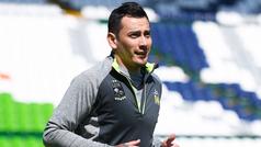 Rubens Sambueza regresa a los entrenamientos del Léon