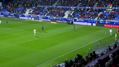 Gol de Oro (J34). Gol de Gallego (1-0) en el Huesca 2-0 Eibar