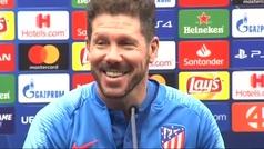 """Simeone: """"Lo mejor es siempre ganar"""""""