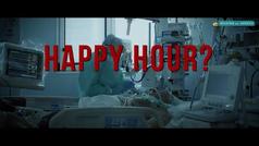¿Hora feliz? :El sobrecogedor anuncio en Italia para concienciar a los jovenes
