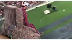 El 'Sillón Ball' ya es deporte: así es el salto de longitud sentado en un sillón