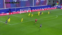 Gol de Sergi Enrich (1-0) en el Eibar 3-0 Espanyol