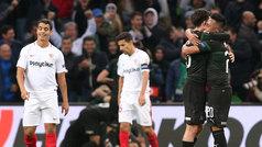 Europa League (J2): Resumen y goles del Krasnodar 2-1 Sevilla