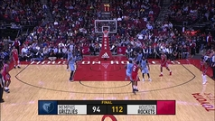 Rockets 112-94 Grizzlies