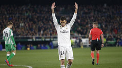 Gol de Ceballos (1-2) en el Betis 1-2 Real Madrid