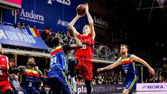 Liga ACB. Resumen: Andorra 97-99 Zaragoza