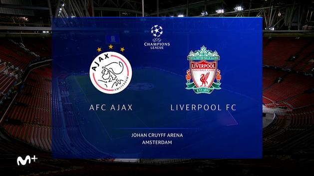 Champions League (J1): Resumen y goles del Ajax  0-1 Liverpool