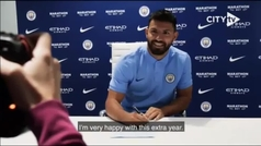 El Kun Agüero renueva con el Manchester City