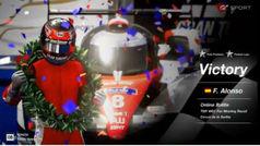 Doblete de Fernando en Fuji y Le Mans con el GT Sport de la Play 4