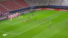Gol de Uribe (0-2) en el Olympiacos 0-2 Oporto