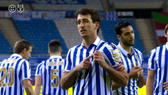 Gol de Oyarzabal (p.) (0-1) en el Athletic 0-1 Real Sociedad